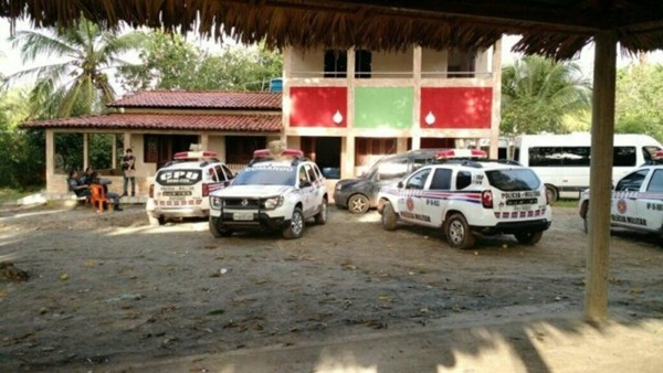 Major e soldados da PM-MA são presos suspeitos por participar de quadrilha de mercadorias contrabandeadas, como armas e drogas.