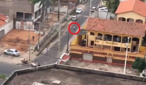Ladrão rouba prefeito na porta da Famem em São Luís, e é preso em flagrante.