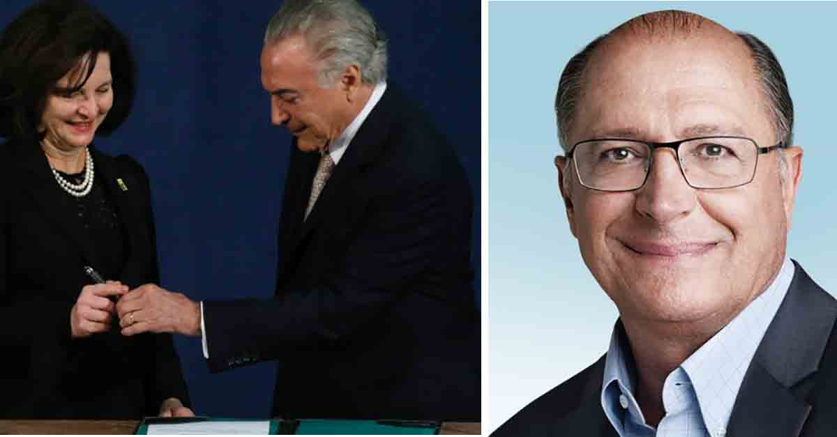 QUADRILHÃO 2: PGR arquiva duas investigações contra Alckmin