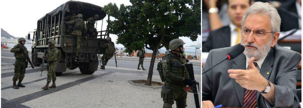 PSOL VAI AO STF PARA SUSPENDER VOTAÇÃO DA INTERVENÇÃO NO RIO