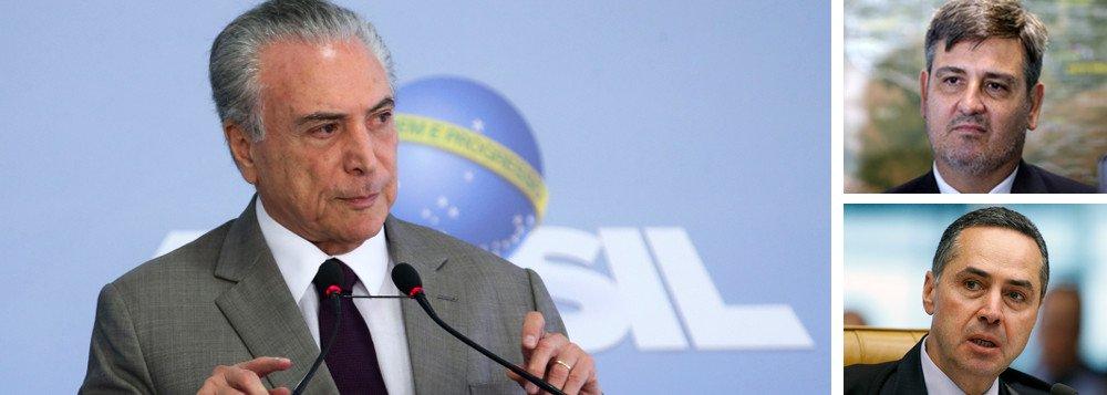 CAI SEGOVIA E BARROSO PRORROGA INVESTIGAÇÃO SOBRE TEMER