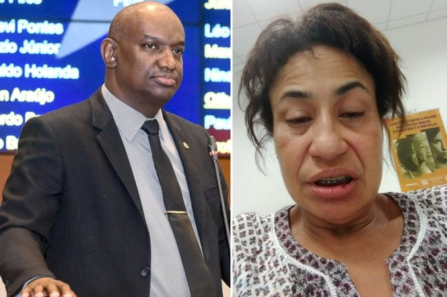 EXCLUSIVO! Veja como deputado Cabo Campos deixou a esposa após agressão