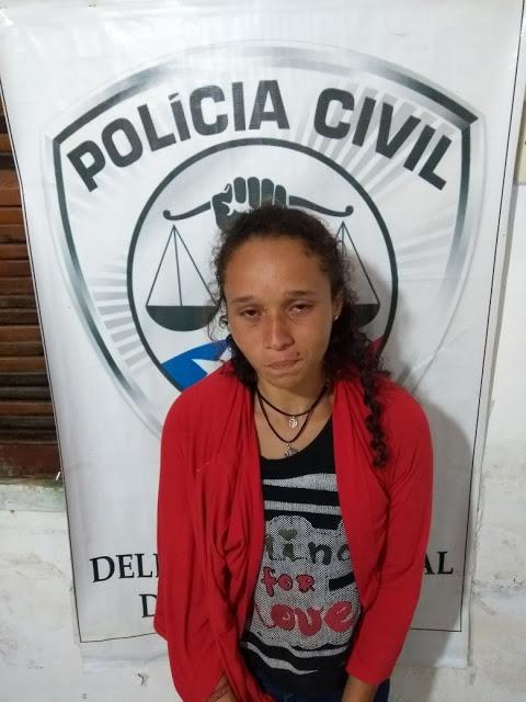 BURITI/MA – Mulher é presa após tentativa de levar droga para seu companheiro em cela na delegacia