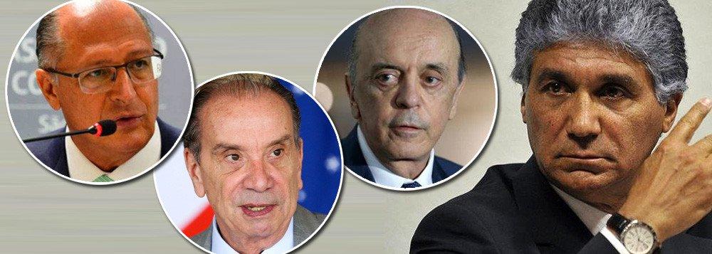 Mais 3 executivos delatam operador de propina de Serra, Alckmin e Aloysio Nunes; Ele continua solto e Moro não faz nada