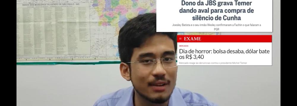 GUERRA NO SUBMUNDO: MBL ACUSA GLOBO E VEJA DE FAZEREM FAKE NEWS