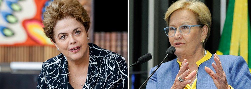 DILMA: 'COMO EXPLICAR QUE UMA SENADORA DEFENDE O CHICOTE?'