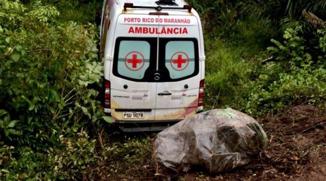 Pinheiro/MA: Vereador dirige ambulância com pneus carecas e desce ribanceira com pacientes
