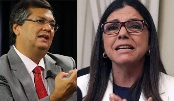 """Flávio Dino desafia Roseana a ser candidata: """"terei o maior prazer de debater todos os temas na TV do Sarney""""."""