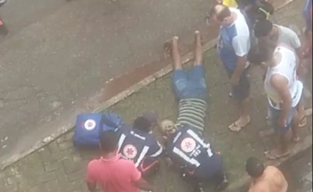 São Luis/MA: Jovem atira-se de viaduto e pede para falar com a mulher