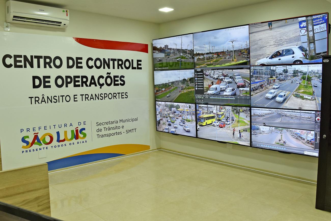 São Luis/MA – Videomonitoramento está funcionando 100% em São Luís