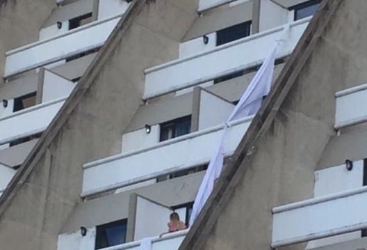 Urgente! Labaredas de fogo obrigam hóspedes e pular de andares em incêndio no Hotel Rio Poty