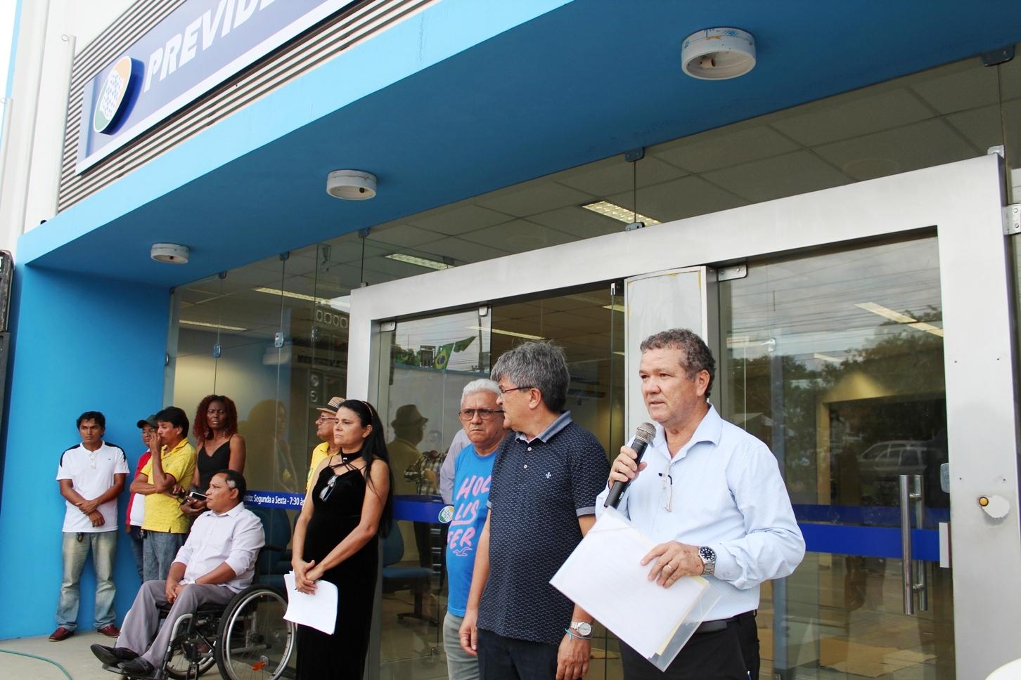 SÃO LUIS/MA- Área Itaqui-Bacanga recebe agência do INSS com festa e manifestações culturais