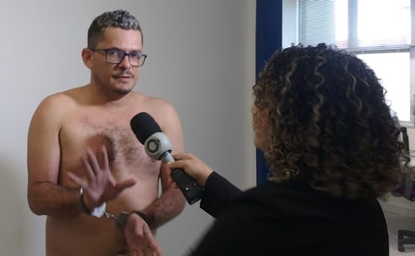 SÃO LUÍS/MA –Após ser preso por ameaçar de morte ex-namorada, homem diz que não ficará na prisão e que vai assassiná-la.