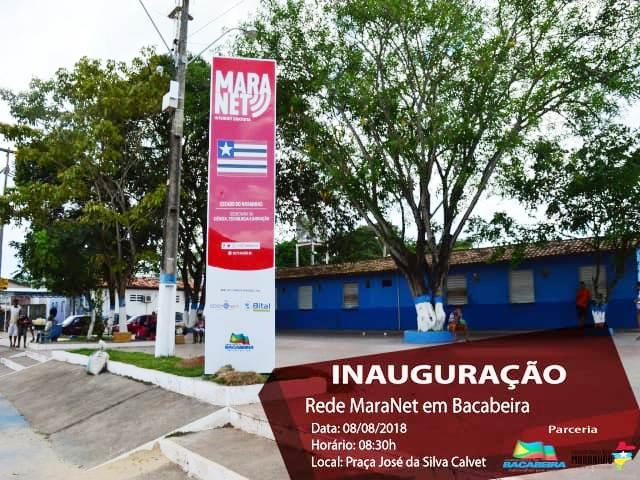 BACABEIRA/MA –  Ganha Wi-fi gratuito na praça José da Silva Calvet