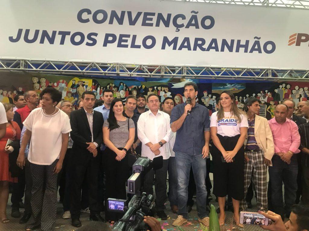SÃO LUÍS/MA – Roberto Rocha chega fortalecido a convenção após apoio de Braide