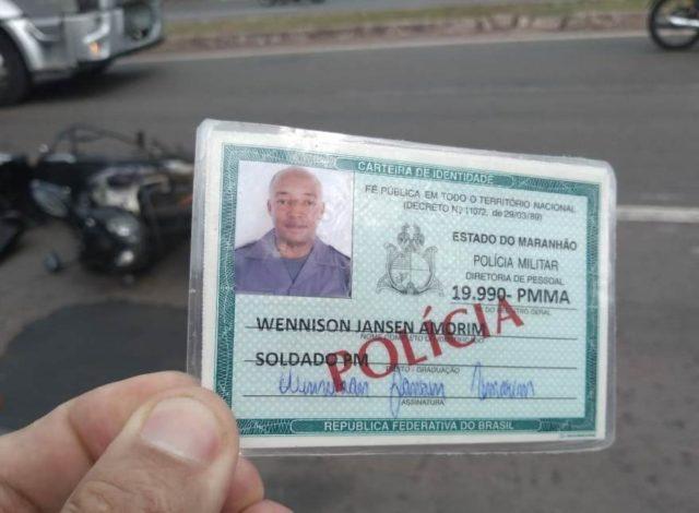São Luis/MA – PM sofre acidente no trânsito e morre por omissão de socorro