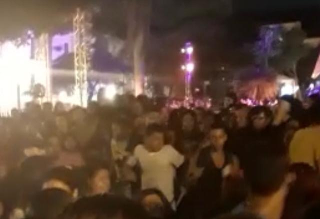 São Luis/MA – Arrastão e pancadaria no show de Marília Mendonça