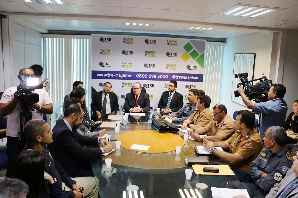 Maranhão – Comitê de Segurança das Eleições 2018 já está instalado