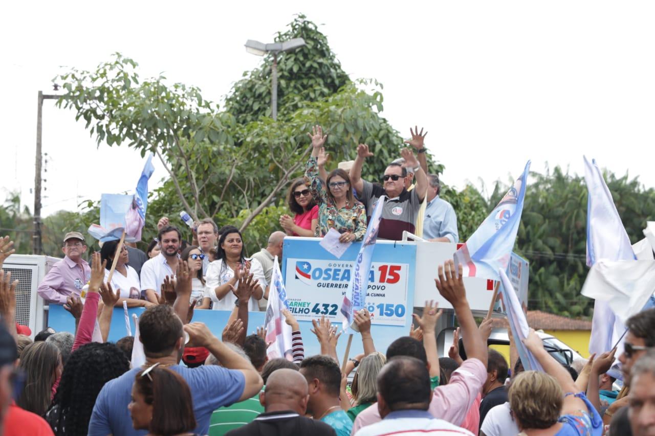 Roseana recebe apoio de ex-prefeitos e grupo de lideranças de Morros