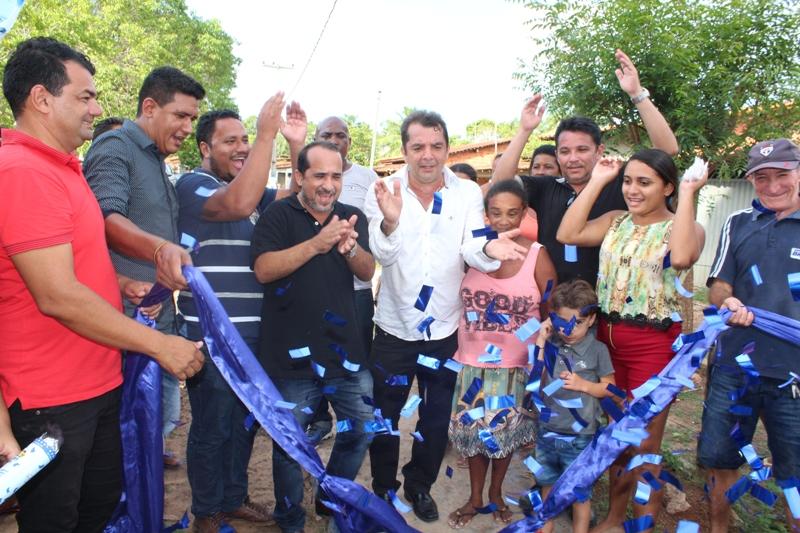 SANTA RITA / MA – Hilton Gonçalo entrega obras importantes nos 57 anos do município.