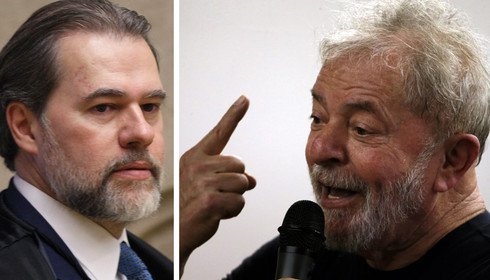 Liberdade de Lula nas mãos de Toffoli