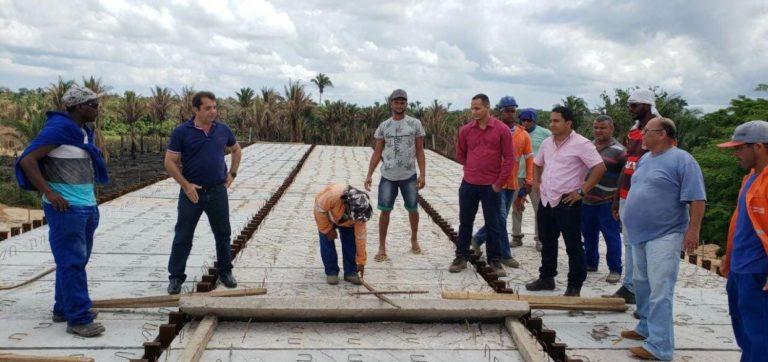 Santa Rita/MA – Ponte de Areias entra na reta final de conclusão