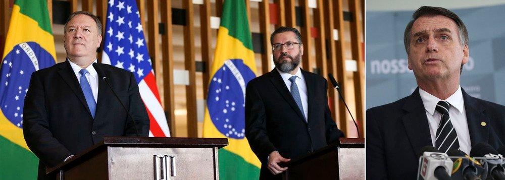 EUA CONFIRMAM PROMESSA DE BASE MILITAR FEITA POR BOLSONARO, CONTRA VONTADE DOS GENERAIS