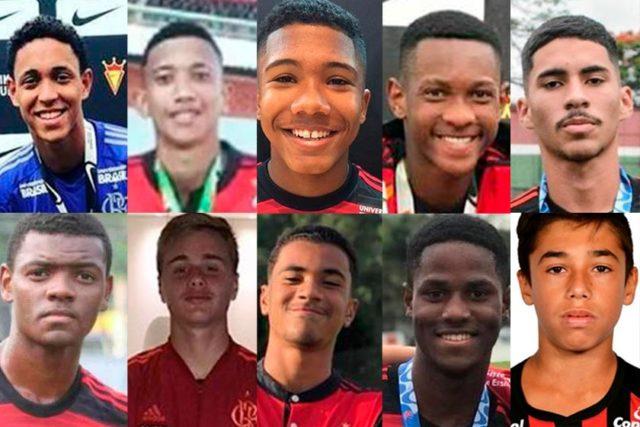 Veja fotos e onde nasceram os 10 jogadores mortos em incêndio no CT do Flamengo