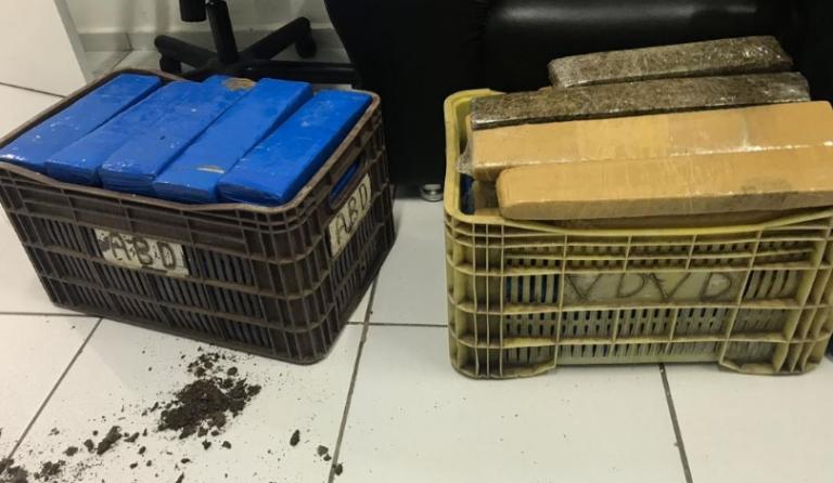 São Luis/MA – Polícia apreende 70 kg de maconha
