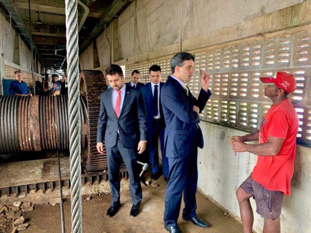 Pinheiro-MA – Presidente da OAB/MA faz inspeção na Barragem do Pericumã