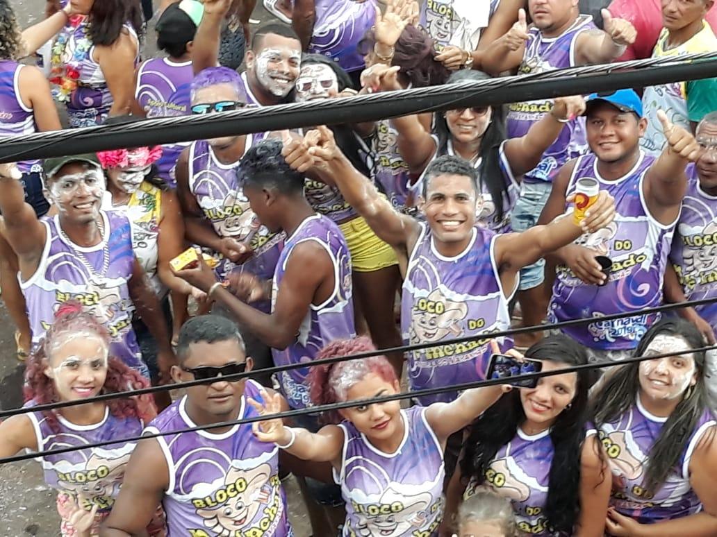 CENTRAL/MA- Bloco do PÉ INCHADO mostra irreverência  e o  Carnaval  2019 bate recorde de público