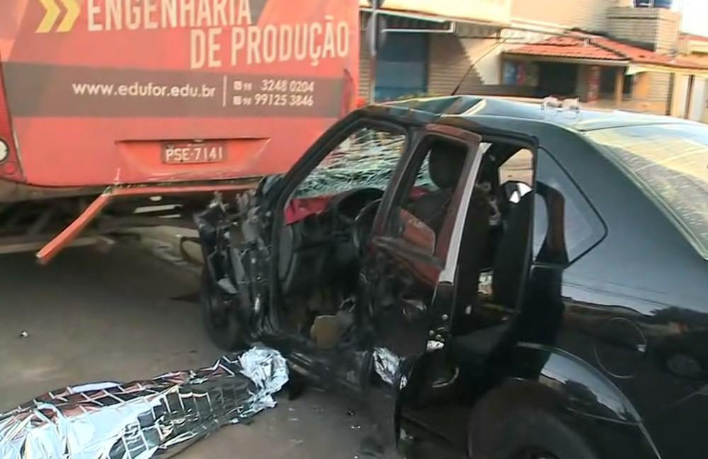 São Luís/MA – Motorista morre ao bater em ônibus