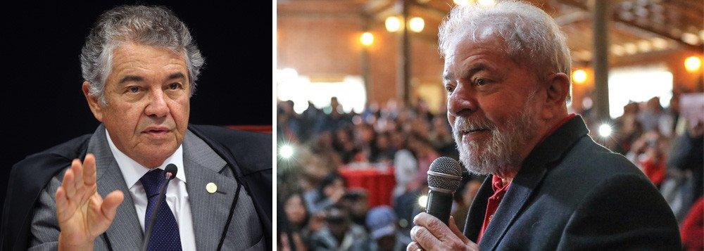 MARCO AURÉLIO: 'TENHO DÚVIDA SERÍSSIMA SE HÁ CORRUPÇÃO E LAVAGEM EM CONDENAÇÃO DE LULA'