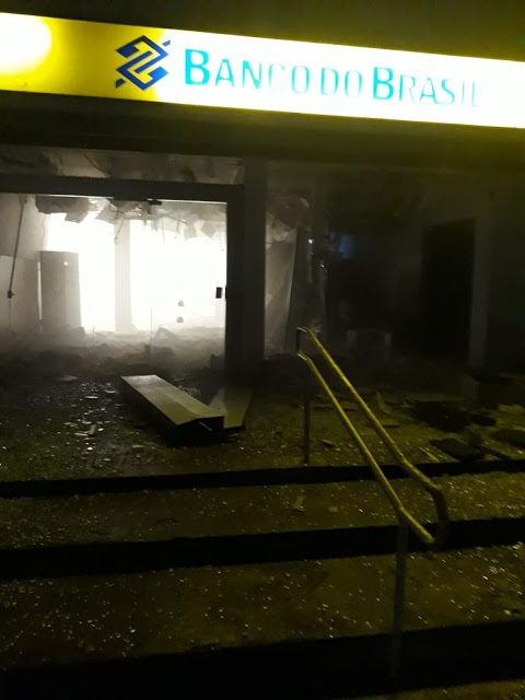 Santa Inês/MA – Bandidos explodem agência do BB