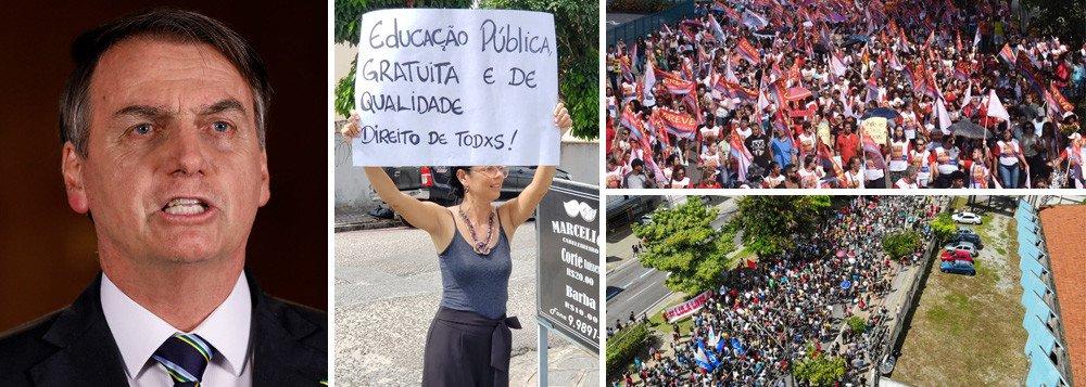 BOLSONARO XINGA ESTUDANTES BRASILEIROS: 'IDIOTAS'