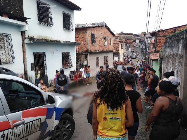 São Luís/MA – Homem é assassinado a tiros na Vila Palmeira
