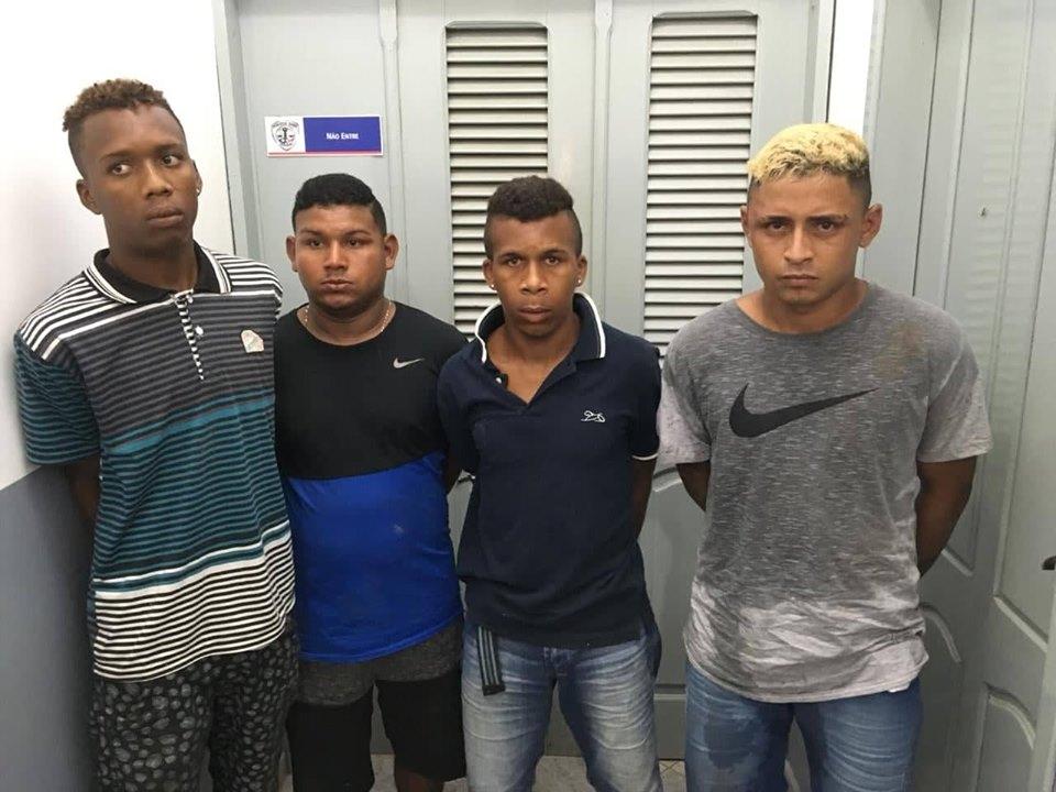 Cururupu/MA – Quarteto suspeito de envolvimento no assalto do ônibus da Empresa Araújo é preso