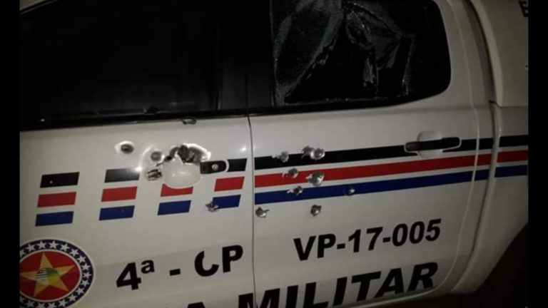 Esperantinópolis/MA – TERROR! Bandidos encurralam PMs em assalto ao BB