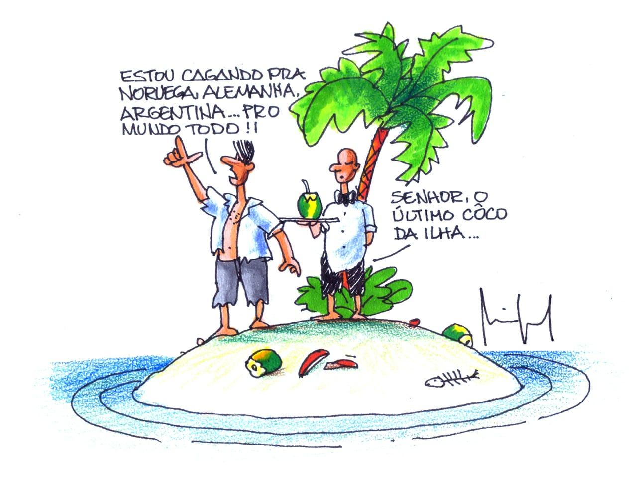 Imagem do Dia: Miguel Paiva – Náufragos da ignorância