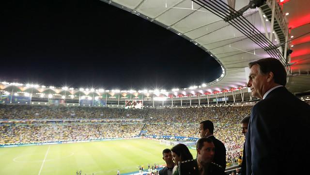 Bolsonaro gastou mais de R$201 mil de dinheiro público para ver três jogos da Copa América