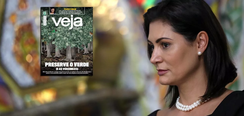 Veja aponta ligações da família de Michelle Bolsonaro com o tráfico de drogas