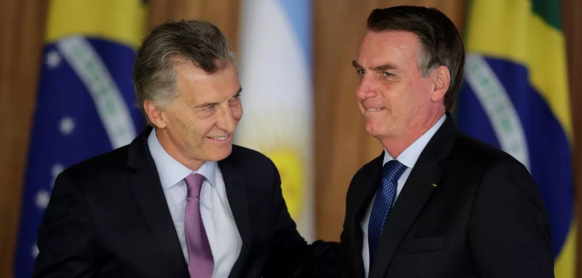 Bolsonaro ameaça destruir Mercosul se Macri perder