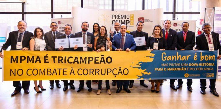 Maranhão – Presidente da Famem prestigia entrega do Prêmio CNMP em Brasília