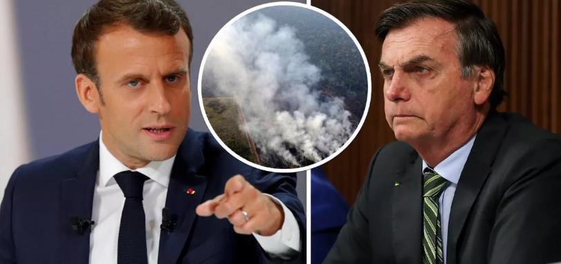 Bolsonaro eleva tensão com França e estuda convocar embaixador brasileiro para consultas