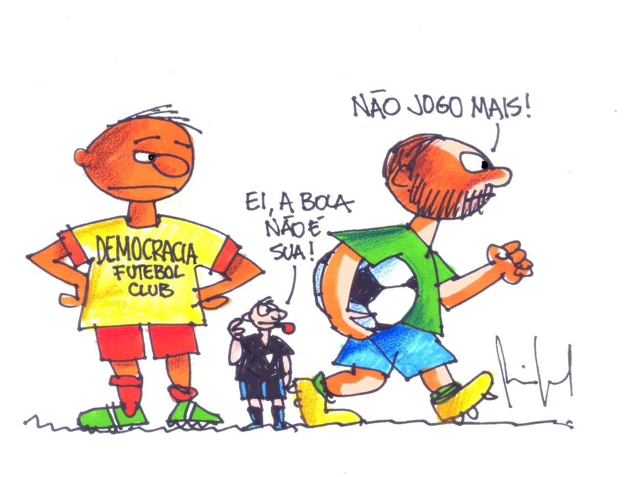 Imagem do Dia:  Miguel Paiva – BRASILEIRÃO