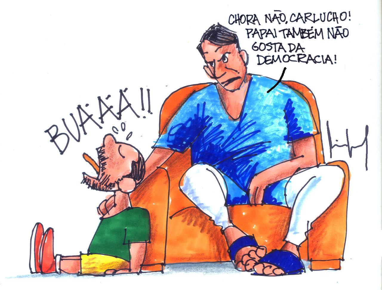 Imagem do Dia: Miguel Paiva – DOENÇA CRÔNICA