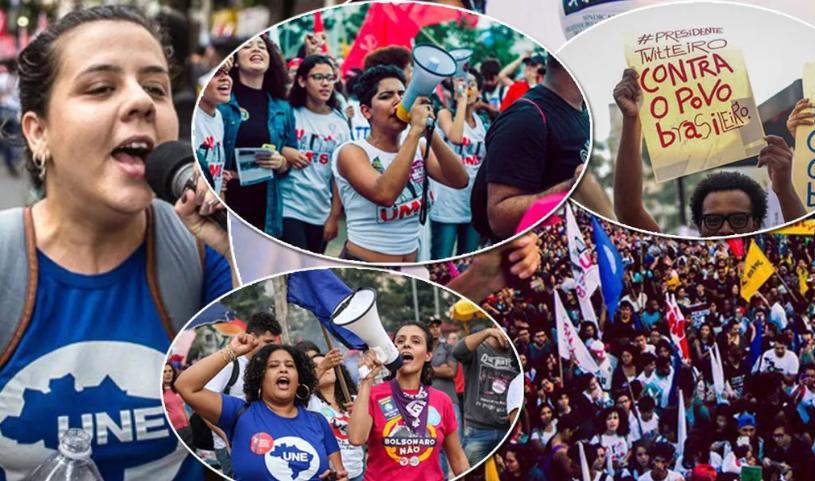 Bolsonaro agora ataca o Movimento Estudantil