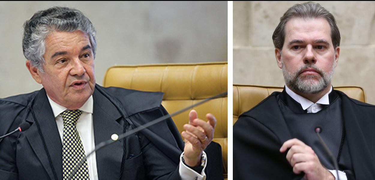 """Marco Aurélio a Toffoli: """"É inconcebível visão autoritária e totalitária no Supremo"""""""