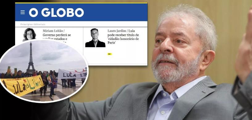 Globo se rende e noticia prêmio de Paris a Lula