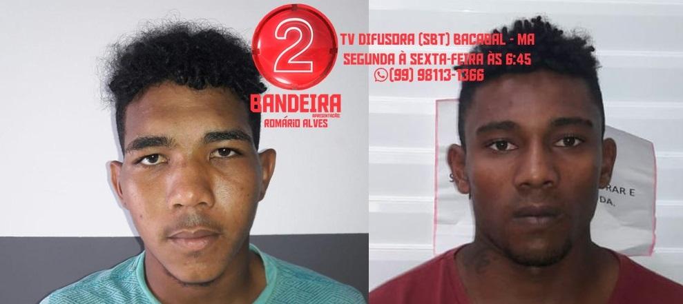 BACABAL/MA – POLÍCIA MILITAR PRENDE ASSALTANTES